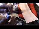 Warsztat skóroroba skóra narzędzia Leatherwork workshop Simon D PL