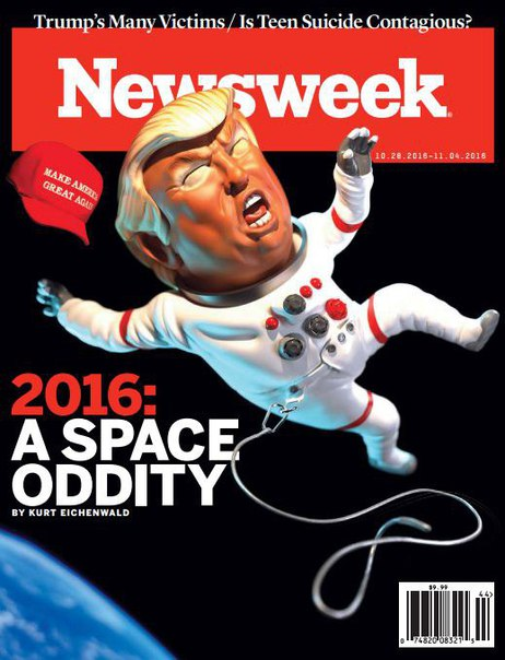 Newsweek USA - October 28, 2016 vk.com