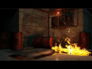 Создание реалистичного огня и искр в Maya