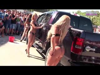 Sexy car wash 7 sexy girls car wash | mia malkova, alexis texas, nicole aniston, asa akira 2017