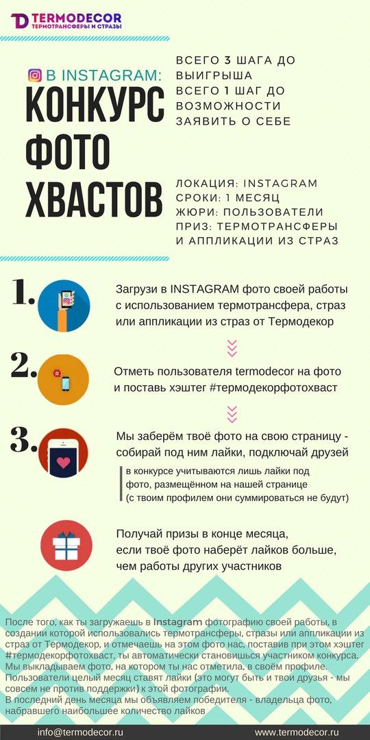 основные этапы конкурса от интернет-магазина Термодекор