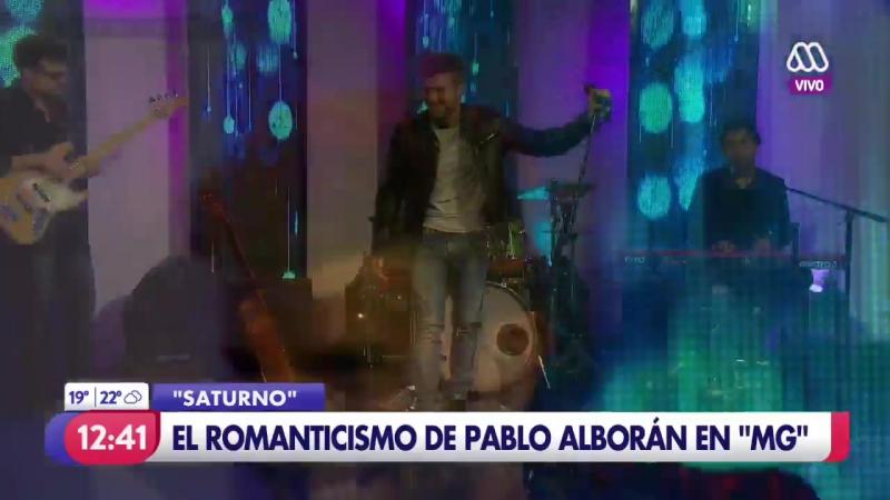 'Saturno' La presentación de Pablo Alborán en el MuchoGusto 27 09 2017