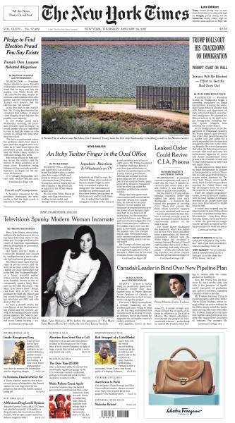 The New York Times January 26 2017 FreeMags