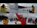 6-й выпуск влога БЕЛКА В ДЕЛЕ Бросаем вызов собакам и снегоходу. Обзор Газели. Скидка 50 от О5.