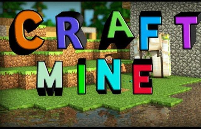 Серверmcpe CraftMine!!!