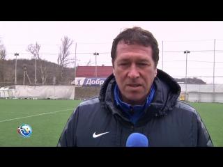 Открытый зимний Кубок КФС. Севастополь – FC Yaounde II Academy. Алексей Грачев