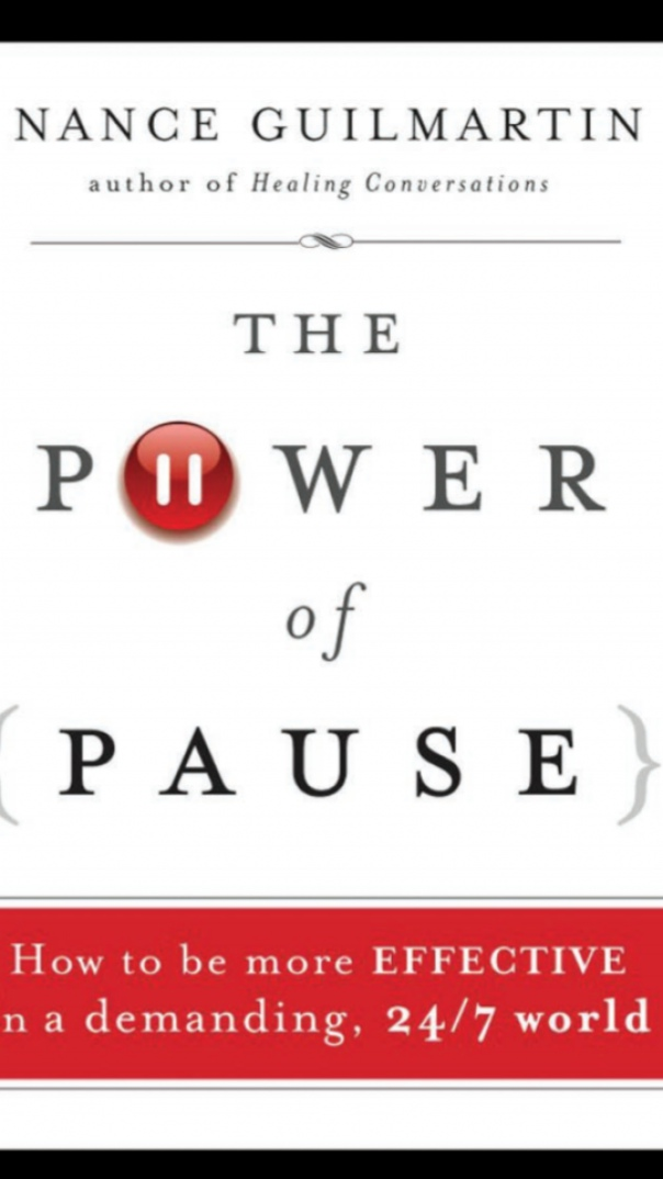 The Power of Pause How to be