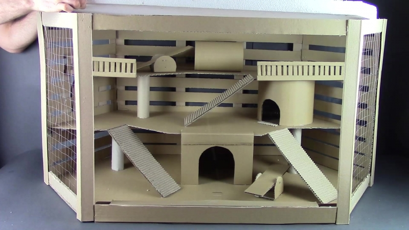 How to make house for cavy