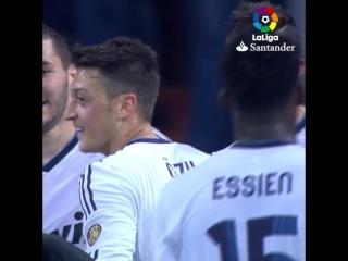 Последний гол Озила за Реал