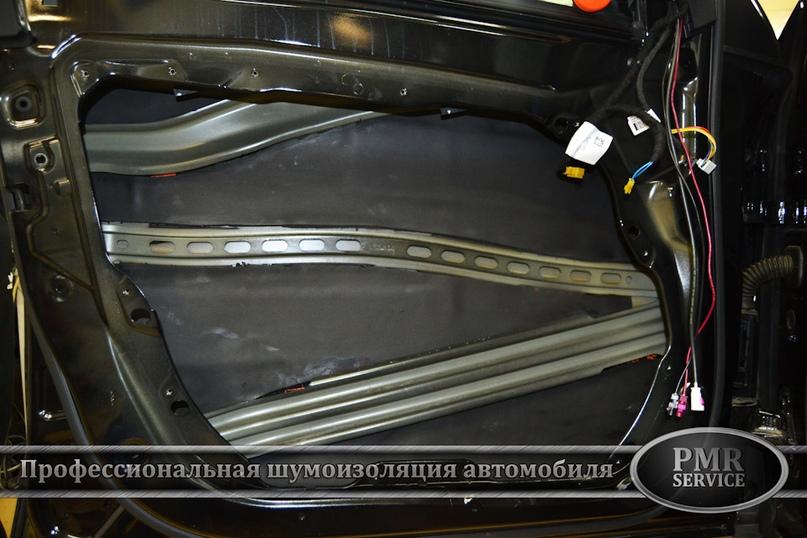 Шумоизоляция Mercedes Benz GLC, изображение №6