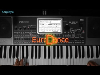 Korg pa 900 - korgstyle  mm  lian ross_eurodanceremix_ improvisation