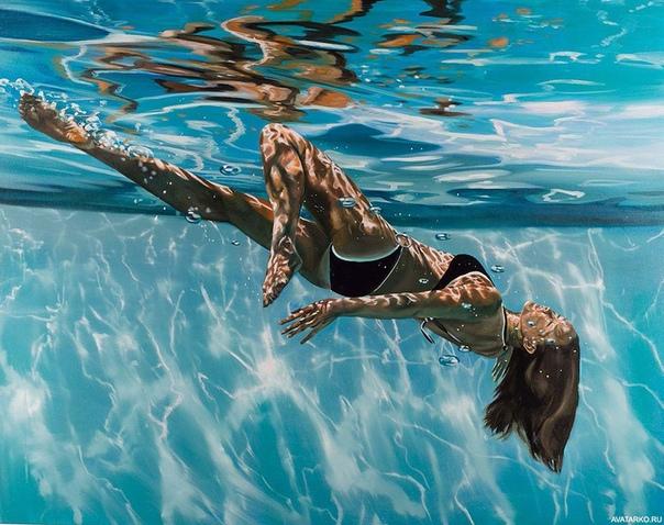 underwater paintings artwork - HD1514×1200