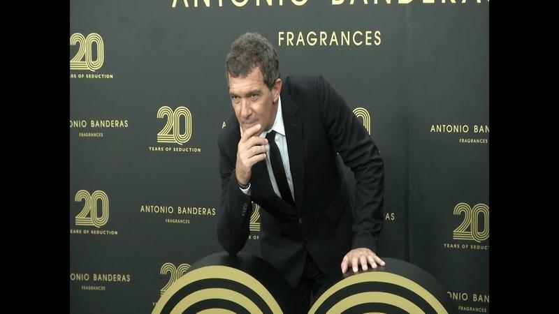 Las fragancias de Antonio Banderas cumplen 20 años