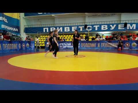 Кровью и Потом Вызов 3 05 08 18 Крупенкова Адександра VS Кудеева Кристина