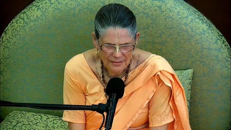 Восскресная Программа Прабхупада Катха Е М Малати деви даси 08 04 2018г