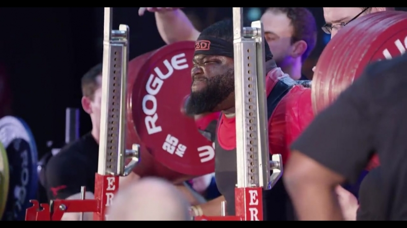 Biggest raw squat in history. Ray Williams hit 485KG