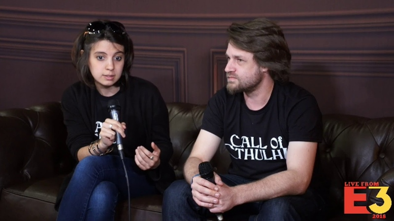 E3 2018: Call of Cthulu with Romain Wiart and Diane Quenet from Cyanide