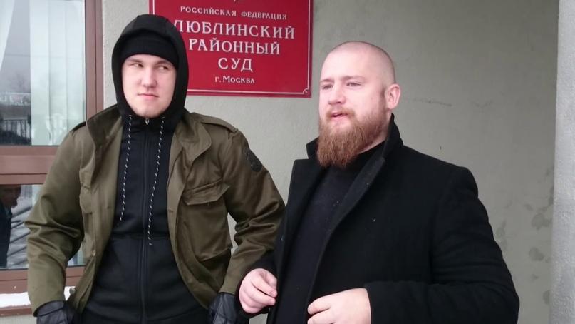 "Справа - Белецкий, слева - Иван ""Новиопов"" Нырков"