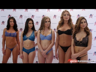 Nina North, Cassidy Klein, Lena Paul, Blair Williams, Adriana Chechik, Aria Alexander (DP Star Season 3 Episode 6 - Top 5 Orgy F
