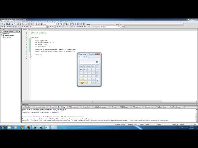 C Programming Tutorial - 16 - Typecasting