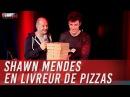 Shawn Mendes en livreur de pizzas C'Cauet sur NRJ