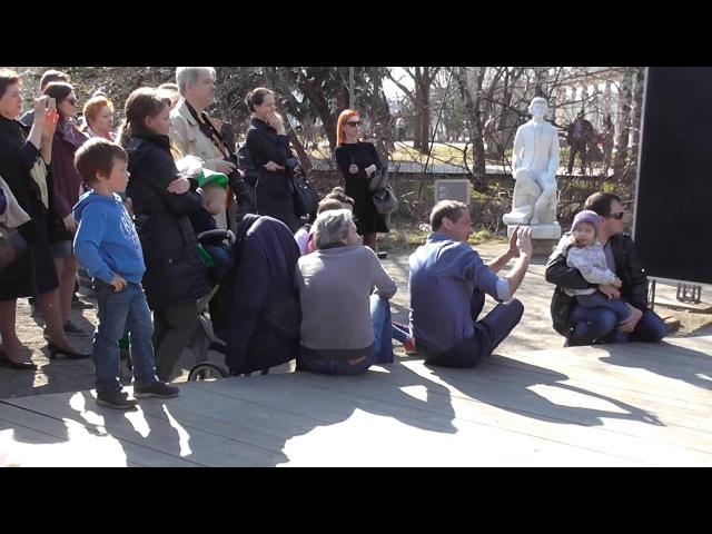 Ах ты степь широкая Грузинский хор Диэло Акапелла Музеон 12 апреля Georgian style 00110