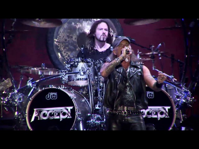ACCEPT - Shadow Soldiers - Restless And Live (OFFICIAL LIVE CLIP)