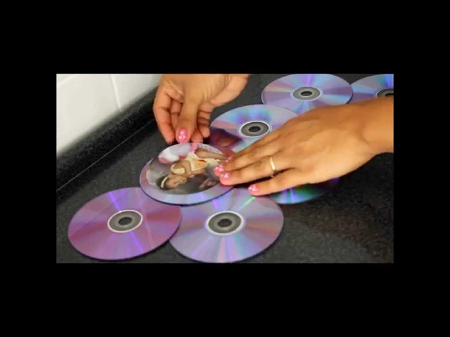 QUADRO DE FOTOS COM DVD SUPER FACIL E CHARMOSO