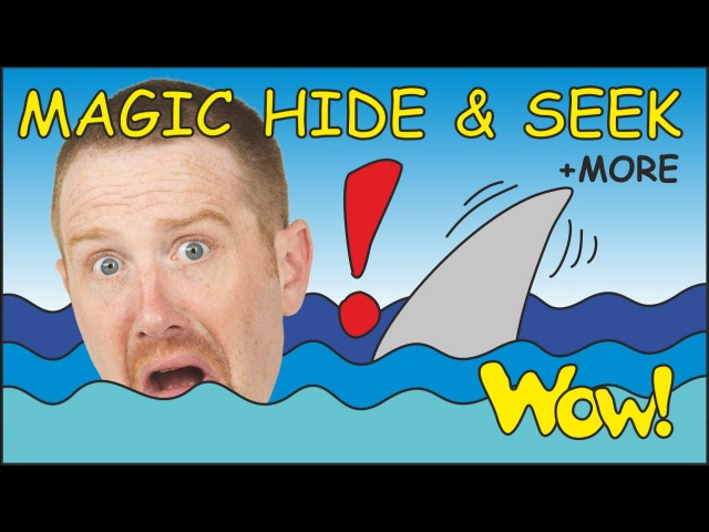 Magic Hide and Seek MORE Funny Short Stories for Kids from Steve and Maggie Wow English TV