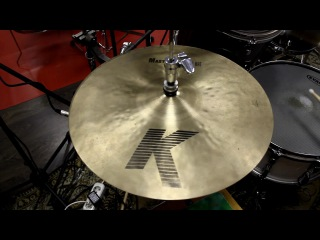Zildjian 14' K Mastersound Hi Hat Top & Istanbul 14' Signature Bottom