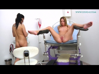 Gyno-X Laura & Leony 2 Doctor, Anal checkup, Medical Fetish, Gyno Exam, Lesbian, Close Ups, Checkup with enema
