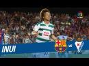 Golazo de Inui 0 2 FC Barcelona vs SD Eibar