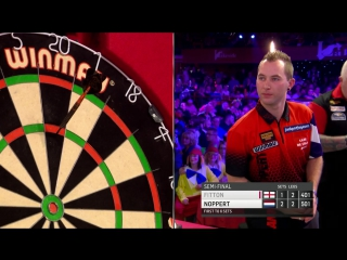 Darryl Fitton vs Danny Noppert (BDO World Darts Championship 2017 / Semi Final)