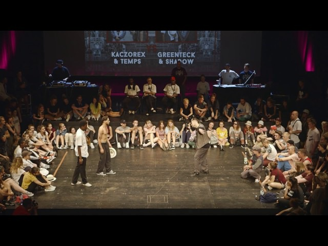 Greenteck Shadow VS Kaczorex Temps - INFINITE FORCE 2016 Popping Final