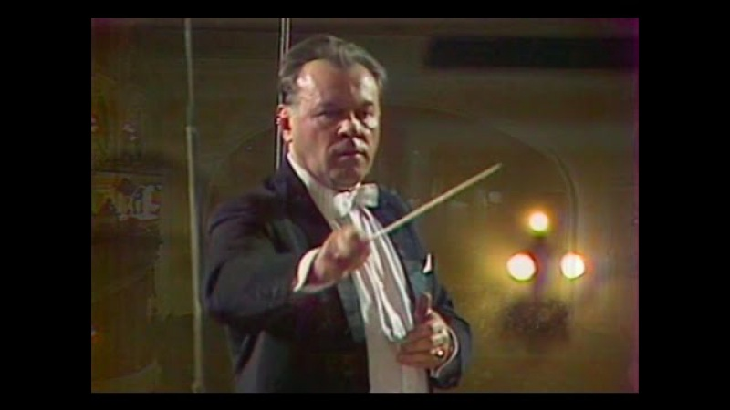 Evgeny Svetlanov conducts Svetlanov video 1978