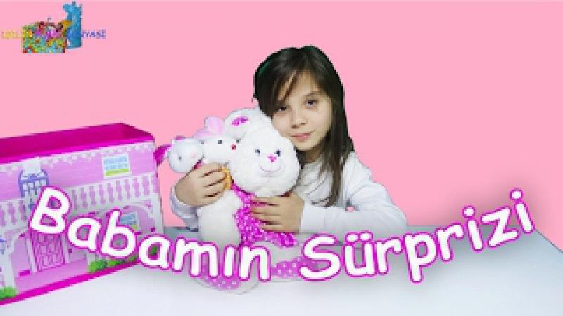 Babamın Sürprizi Bana Çok Şeker Peluş Tavşanlar Almış Eğlenceli Çocuk Videosu Funny Kids Videos