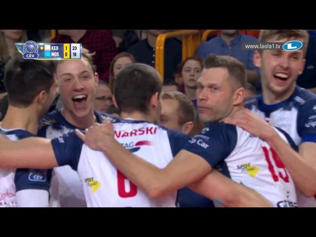CLVolleyM - 4th Round Leg 4 - Zaksa KĘDZIERZYN-KOŹLE vs Dinamo MOSCOW