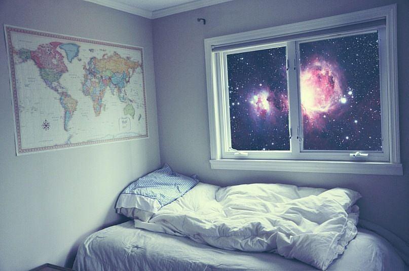 обеспечения космос в окне фото нем