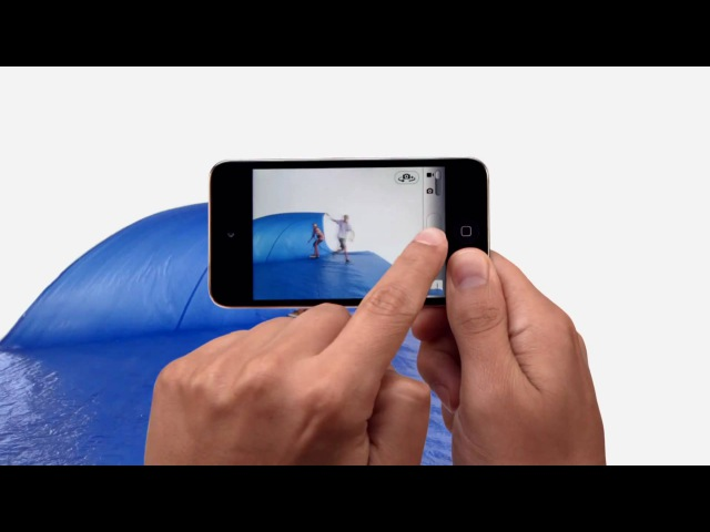 Apple iPod touch 2010 Commercial All kinds of fun