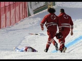 Сбили лыжника, Украина, Буковель, Горные лыжи, Олень на горе