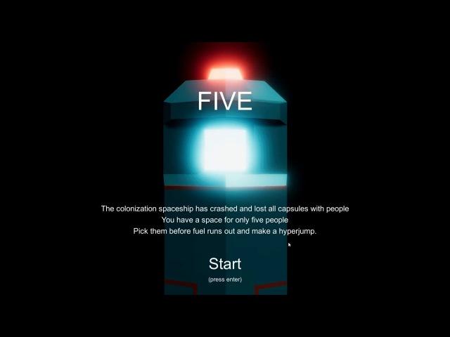 игра Five gamejam версия