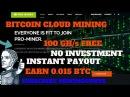 Fast Bitcoin Mining Pro Miner Hashing Power 100 00 GH s 0 01BTC = 10000GH s NoInvestment MiningGurus