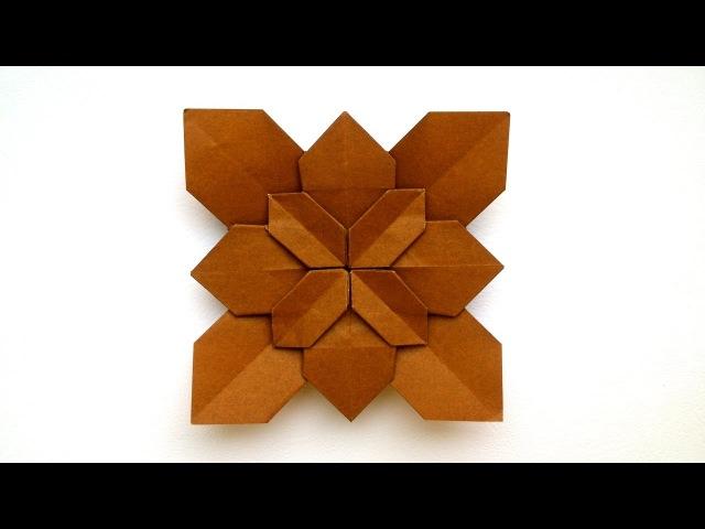Origami Hydrangea Shuzo Fujimoto Origami Tutorial