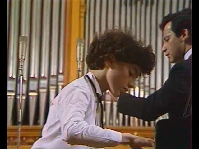 Evgeny Kissin plays Shostakovich Piano Concerto no 1 op 35 video 1986