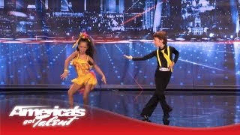 Yasha Daniela Amazing Kid Dancers Dance to Pitbull and Tina Turner America's Got Talent 2013