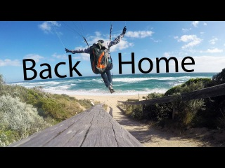 Back At The Home Site | Paragliding