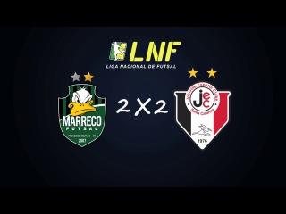 LNF2017 - Semana 19 - Gols - Marreco 2 x 2 Joinville