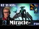 Miracle - Outworld Devourer MID   EZ 21 Kills 7.08 Update Patch   Dota 2 Pro MMR Gameplay 23
