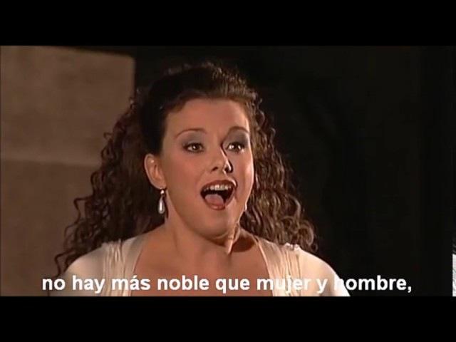 LA FLAUTA MAGICA Duett I 2 Pamina Papageno Bei Männern welche Liebe fühlen