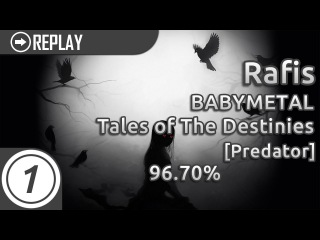Rafis | BABYMETAL - Tales of The Destinies Predator 1105/2409x 10xMiss % #5